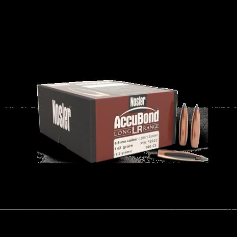 Nosler AccuBond® LR 6.5mm/ .264 142gr 100st