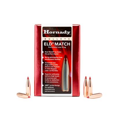 Hornady ELD MATCH 6,5mm 140gr 100st