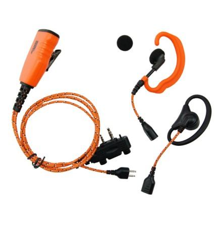 Pro Equip orange headset solution