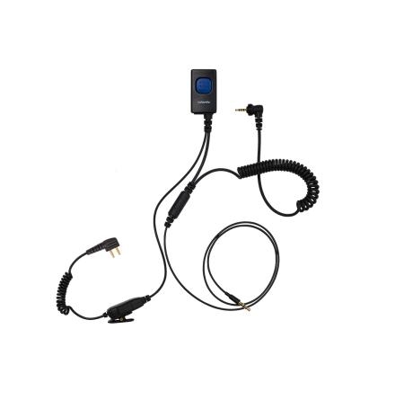 Lafayette Miniheadset/ mobil-radio-Peltor/M5