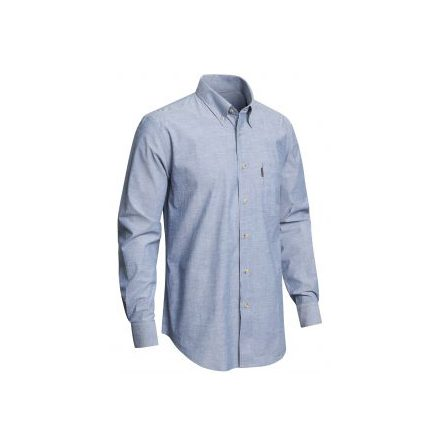 Chevalier Camp Chambray Shirt BD LS