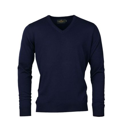 Laksen Sussex V-Neck Merino