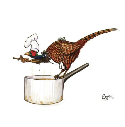 Agripix Tasty Bird Card