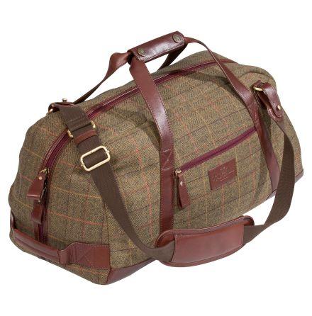 Alan Paine Week End Bag Peat Tweed
