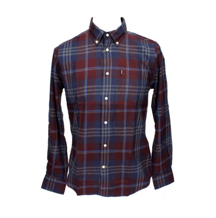 Barbour Stapleton Highland Check Merlot