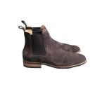Amazona Moema Chelsea Boots Coffe brown Suede