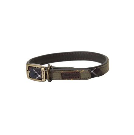Barbour Classic Tartan Leather Collar