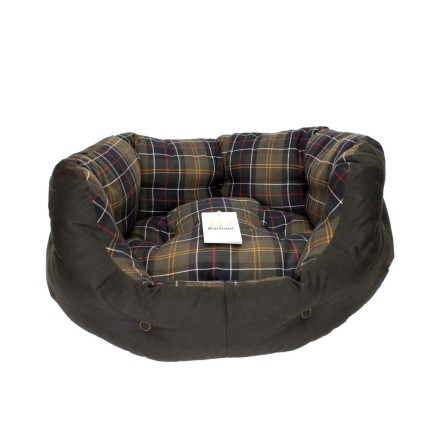 Barbour Wax Cotton Dog Bed 24""