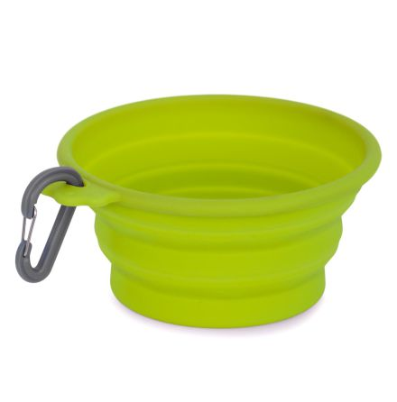 Dogman Silicone Pop-up Bowl, 750ml lime