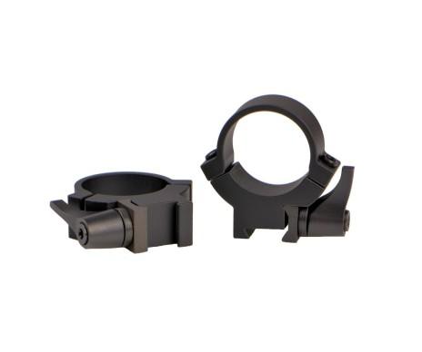 Warne 721LM 1 inch 7.3/22 Quick Detach Medium Rings