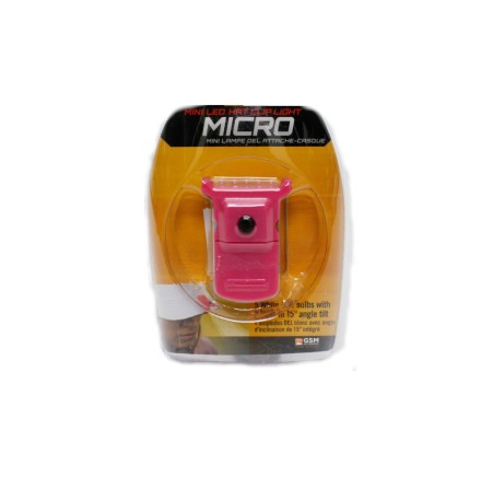 Cyclops Micro LED Hat Clip PINK.
