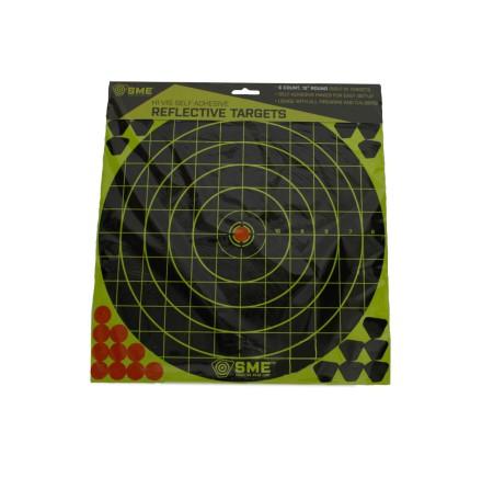 """SME Hi-Vis 12"""" Round Sight-In Target"""