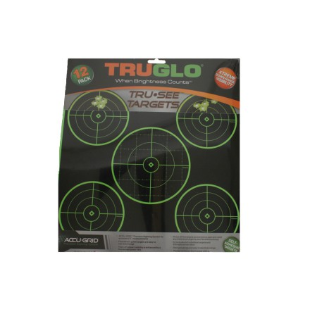 Accu Grid TruGlo Targets 12 pack
