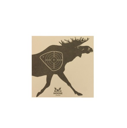 Black moose Shooting Targets: Moose