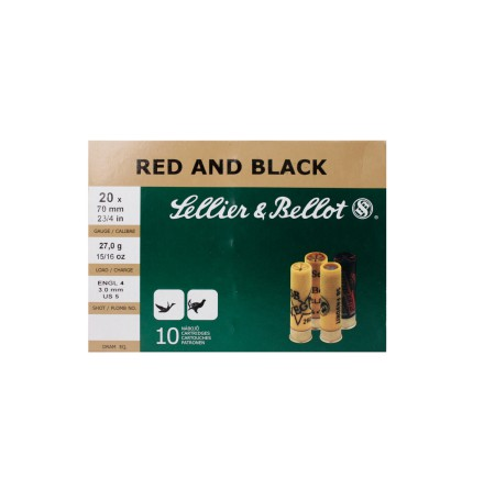 Sellier & Bellot Red and black 20-70 Nr 5