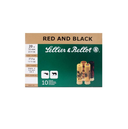 Sellier & Bellot Red and black 20-70 Nr 3