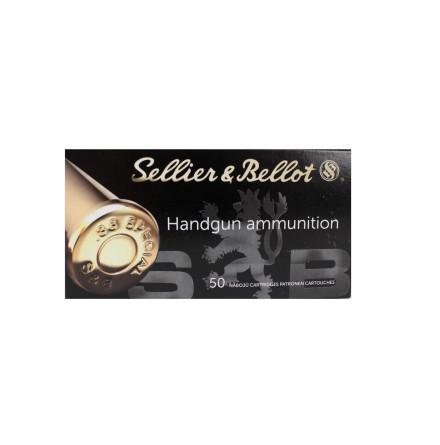 Sellier & Bellot 9mm Luger FMJ 115gr 7,5G