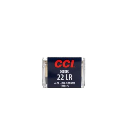 CCI 22lr SGB LFN 40gr
