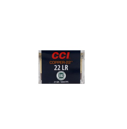 CCI 22lr Copper-22 21gr