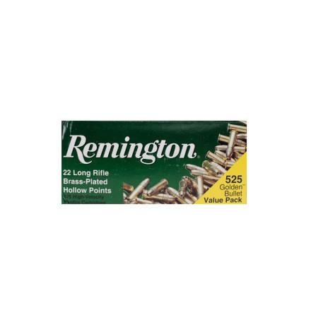 Remington 525 Golden Value Pack Brass Plated HP