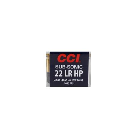CCI Subsonic HP 22LR