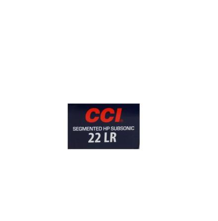 CCI 22lr Segmented HP Subsonic 40gr