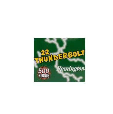Remington 22lr Thunderbolt 500 rounds