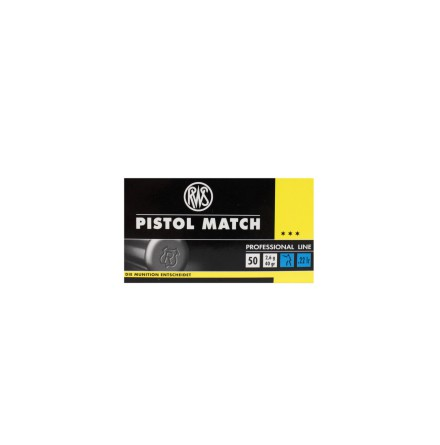 RWS 22lr Pistol match
