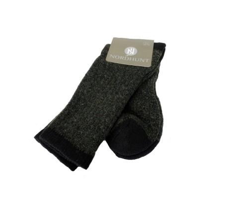 NordHunt Woolboot Sock Short Green