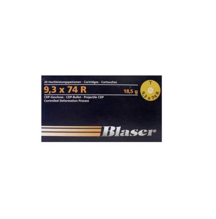 Blaser 9,3x74R CDP 18,5g/ 285gr
