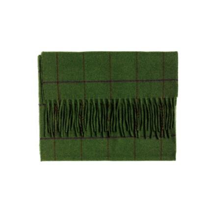 Laksen Orkney Scarf - Green/Purple