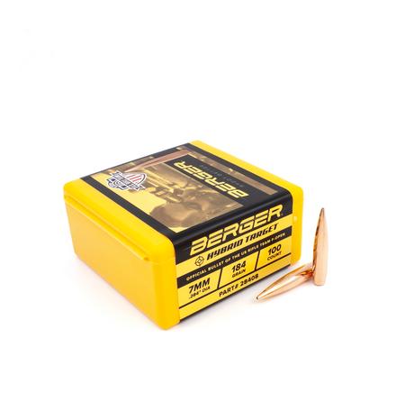 Berger Hybrid Target 7mm/ .284 184gr 100st
