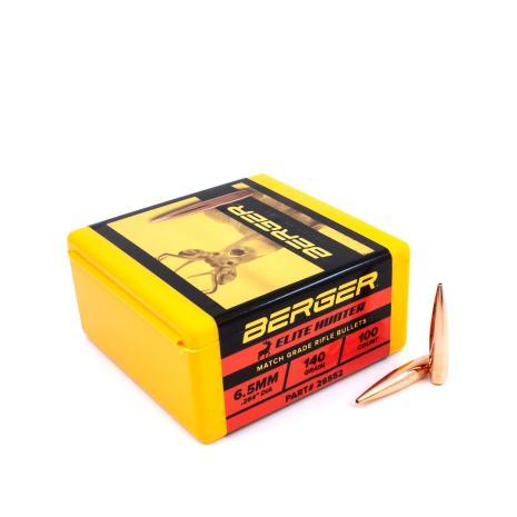 Berger 6,5mm 140gr Elite hunter 100st