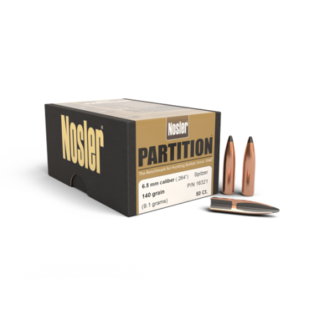 Nosler Partition 6,5mm/ .264 140gr 50st