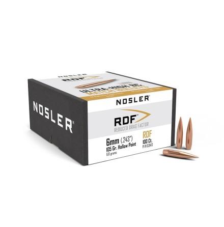 Nosler RDF 6mm 105gr 100st
