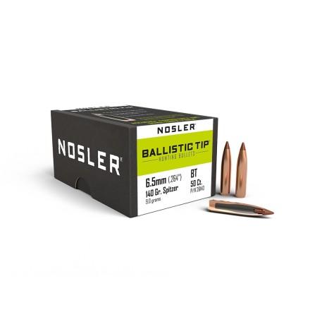 Nosler BT 6.5mm/ .264 spitzer 140gr 50st