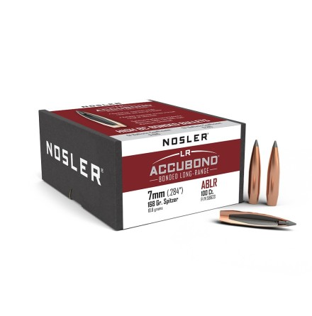 Nosler Accubond LR 7mm/ .284 168gr 100st