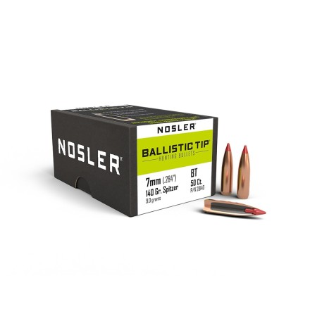 Nosler BT 7mm/.284  140gr Spitzer 50st