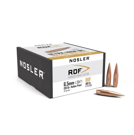 Nosler RDF 6,5mm/ .264 130gr 100st