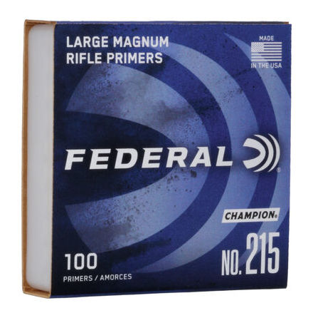 Federal primers 215 Large Rifle Magnum