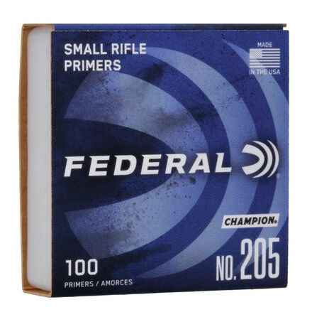 Federal Primers 205 Small Rifle