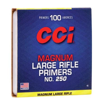 CCi Primers 250 Large Magnum Rifle