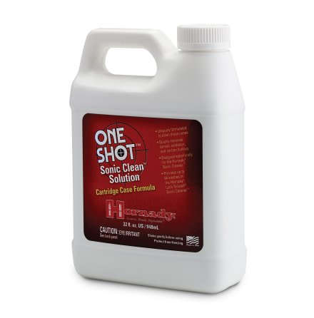 Hornady One Shot Sonic Clean Cartridge Case Solution 948ml