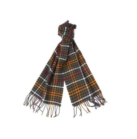 Barbour Barmack Houndstooth Scarf Classic Tartan