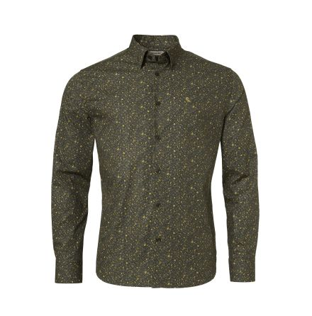 Chevalier Milton Shirt Men Honey Flower Printed