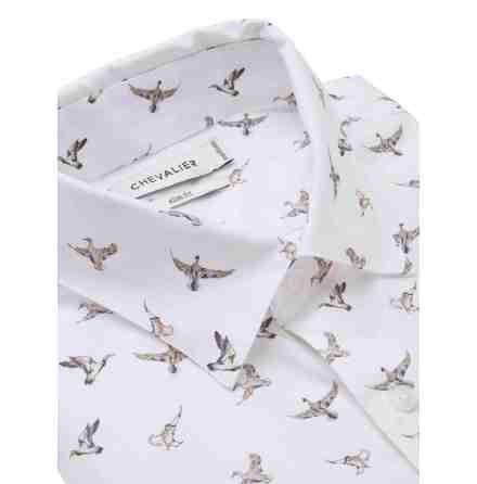 Chevalier Sibbo Shirt Men Flying Ducks, S