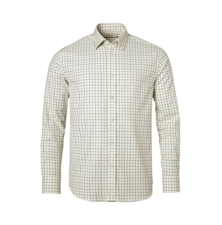 Chevalier Luton Shirt Men Hunter Green Checked