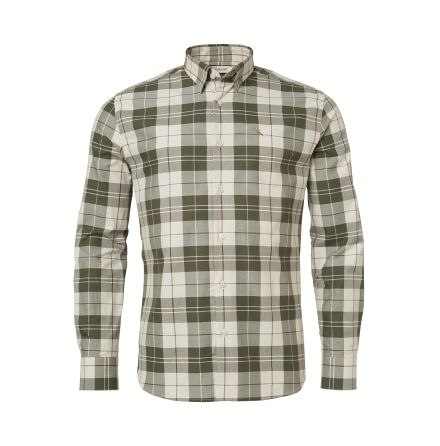 Chevalier Hinwick Shirt Men Deep Green Checked