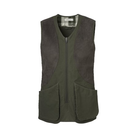 Chevalier Meadow Shooting Vest Women Pine Green