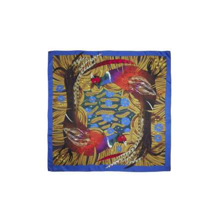 Chevalier Downes Silk Scarf Magical Pheasant, One size